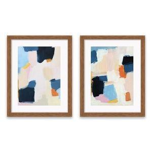 Project 62 Abstract Framed Print Wall Art MCM